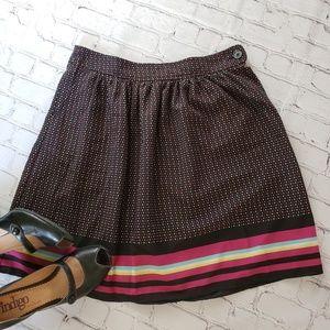 ON Polka Dot Pocket Pleated Skirt 2